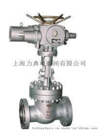 电动楔式闸阀Z940H电动高温高压闸阀-力典电动阀
