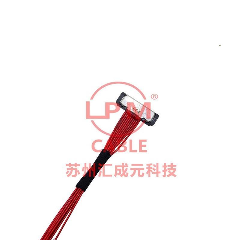 供应I-PEX 20373-R14T-06 TO I-PEX 20373-R14T-06 同轴屏线