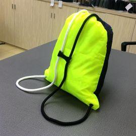 實力廠家滌綸束口袋 廣告抽繩袋 雙肩旅行包收納運動揹包足球袋子