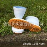 白色雨靴水鞋套鞋膠鞋防滑防水廠家直接可定做雨鞋耐磨定制