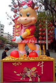 大型泡沫卡通雕塑定制 泡沫道具 婚庆装饰 泡沫模型