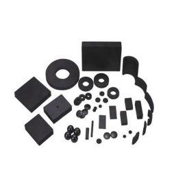 厂家直销 环形强磁块 铁氧体永磁圆形强磁铁 强力磁铁片 可定做