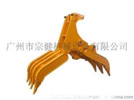 抓木器生产厂家用于木头、石头、废铁等物料抓取