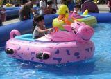 水上乐园儿童碰碰船,广场卡通手摇船,母子电瓶船