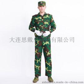 军训迷彩服