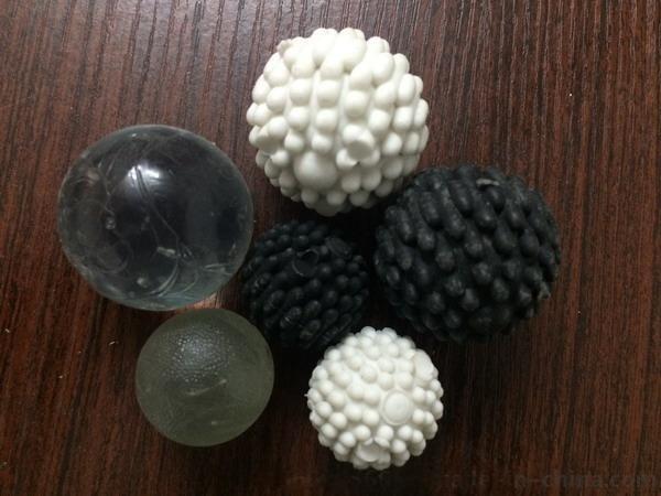 洗水胶球棉球毛毛球牛筋球泡沫球硅胶球方块