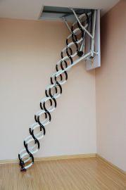 山西阁楼专用伸缩楼梯,太原阁楼伸缩楼梯厂家,太原电动阁楼楼梯,太原阁楼楼梯图片