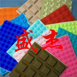 红色硅胶垫  高弹防滑脚垫 彩色硅胶脚垫生产厂家