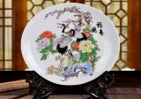 景德鎮陶瓷 開業慶典紀念品定製廠 禮品陶瓷賞盤定製