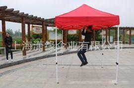 2*2米半自动折叠式广告帐篷豪华2×2米户外展览帐篷厂家现货直销