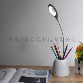 新款创意触摸感应台灯 新品笔筒台灯 护眼台灯电商   生产厂家