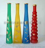 廠家供應 電鍍 噴色 後加工 玻璃花瓶