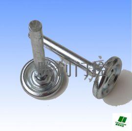 通用车库门滚轴  滑轮/尼龙铁滑轮/电动门轨道滑轮滚轮/镀锌