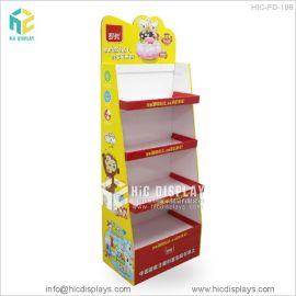 恒创定制学习用品纸货架儿童文具纸陈列货柜架免费设计打样