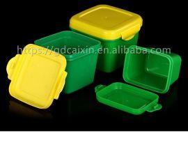 生产厂家食品级豆瓣酱酱料盒,食品保鲜盒