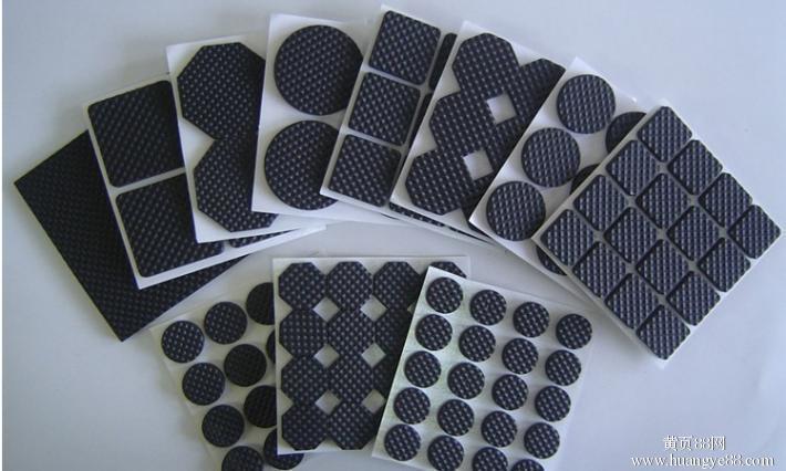 本色硅胶垫片 黑色3M橡胶防滑垫 食品级硅胶圈 家具静音硅胶垫片