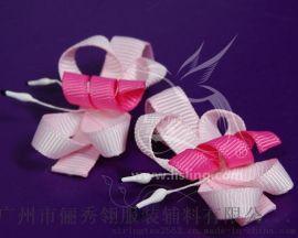 俪秀翎织带花饰,发夹SH003