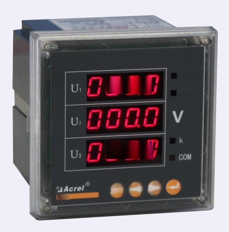 安科瑞 PZ96-AV3 数显三相交流电压表