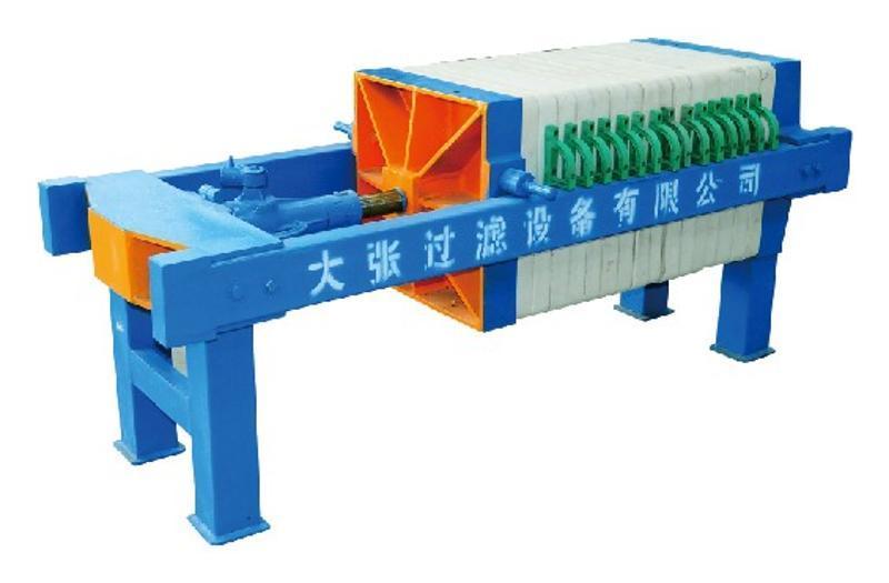 大張XMQ3/320-30UK壓濾機 千斤頂機械壓緊壓濾機 廠家直銷 品質保證