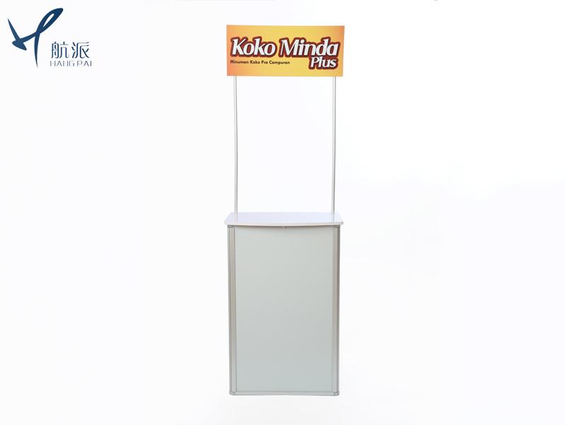 广告展架新型全铝合金框架促销台