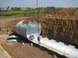 波纹涵管厂家 河北波纹涵管规格型号 排水管