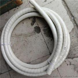 供应白色食品级橡胶管无味白色橡胶管白色夹布胶管