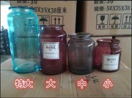 棕色插花瓶欧式花瓶干花水培瓶