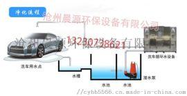 自助洗车行洗车水循环处理设备洗车店废水过滤净化系统