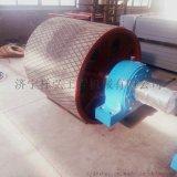 生产国标传动滚筒 皮带机传动滚筒包胶修复