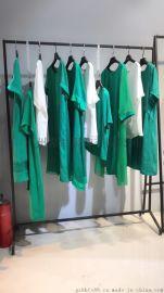广州十年只有女装好做 HL铜氨丝2018夏装尾货