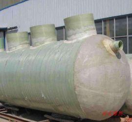 农村厕所改造化粪池玻璃钢化粪池一体化污水处理设备