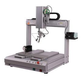 厂家直销坚成BES自动焊锡机小型波峰焊机DC头全自动焊锡机器人