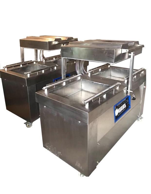 多功能双室不锈钢真空包装机 食品真空包装机