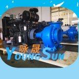 柴油機水泵300HW-12 農田灌溉大流量柴油機水泵機組
