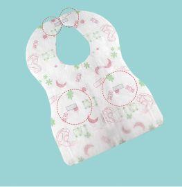 一次性围兜儿童围嘴防水饭兜婴儿口水巾**便携卡通印花oem定制