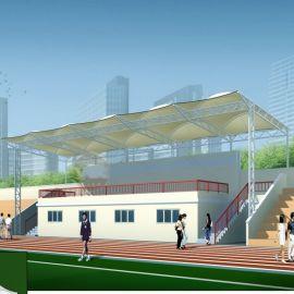 惠州膜结构演讲台遮阳棚制作 膜结构雨棚张拉舞台加工