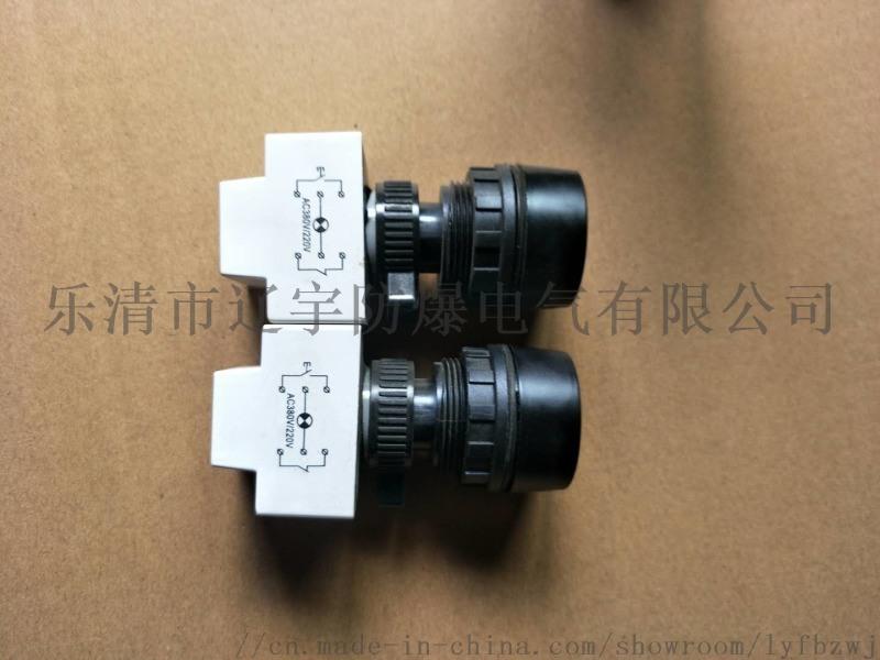 防爆带灯按钮 防爆按钮 24V 220V 380V