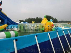 支架遊泳池新的注塑工藝保護鋼管延長壽命