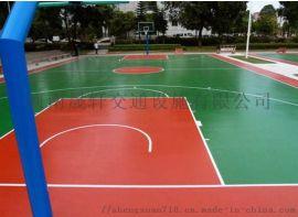 网球场、篮球场等要求耐候性的户外运动场地的地坪施工