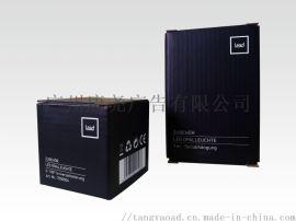 电子产品用灰底白卡纸裱E坑瓦楞纸彩色包装盒