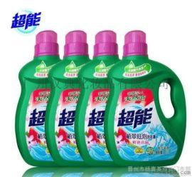 超能天然椰子油生產2.5KG洗衣液低泡易漂一件代發