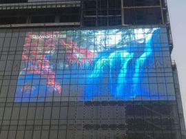 湖南橱窗LED透明屏湖北透明led显示屏厂家