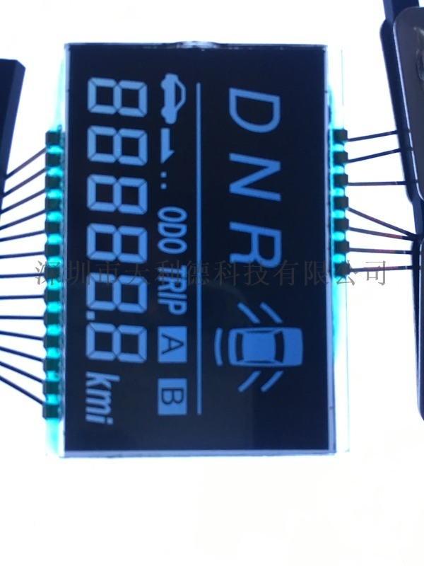 VA液晶屏边框丝印液晶屏配套背光源