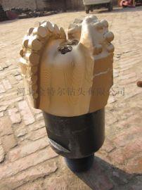 金刚石复合片钻头 65mm三翼四翼普通型PDC钻头