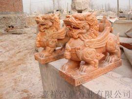 石雕貔貅厂家 汉白玉貔貅多少钱
