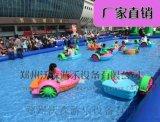 親子版手搖船,彩色拼接雙人水上手搖船陝西廠家直銷