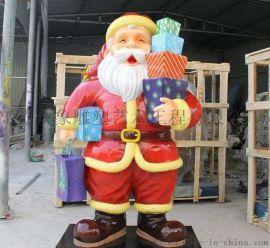 玻璃钢卡通人物圣诞老人006