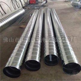 白铁通风管道生产厂家、通畅环保通风工程设备
