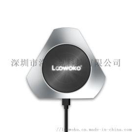 金属桌面私模无线充电器私模无线充QI认证10W快充