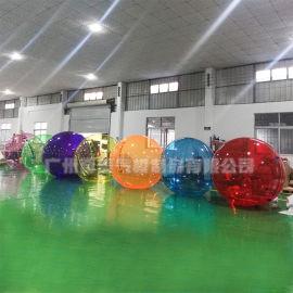 水上步行球价钱 水上透明滚筒生产厂家促销